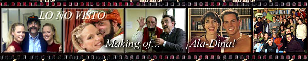 Making of...  de la serie de más audiencia en España