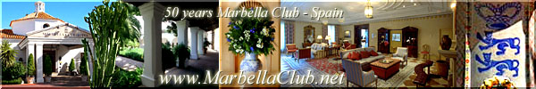 El Marbella Club celebra su 50 aniversario The Marbella Club celebrates his 50 anniversary !